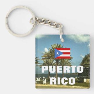 Porte-clés Photographie vintage de Porto Rico
