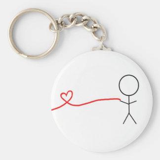Porte-clés Pièce de garçon de porte - clé assorti de couples
