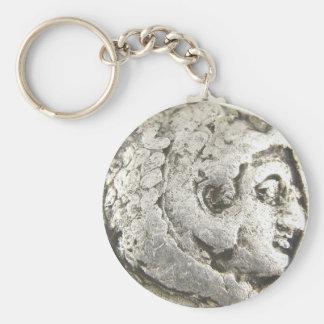 Porte-clés Pièce de monnaie antique