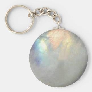 Porte-clés pierre de la lune