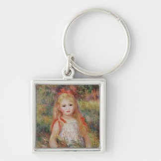Porte-clés Pierre fleurs de transport fille de Renoir   d'une