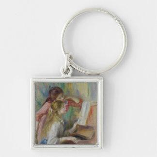 Porte-clés Pierre jeunes filles de Renoir un   au piano