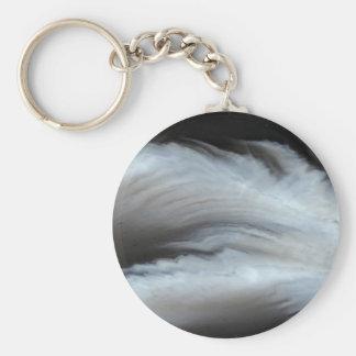 Porte-clés Pierre naturelle faite varier le pas de cool noir
