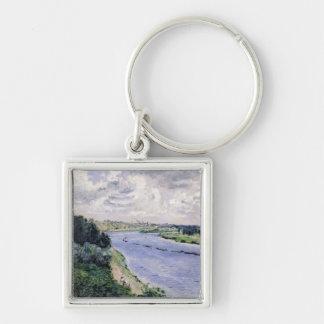 Porte-clés Pierre péniches de Renoir un   sur la Seine