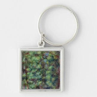 Porte-clés Pierre un chemin de Renoir   dans un bois