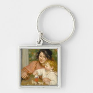 Porte-clés Pierre un enfant de Renoir   avec des jouets