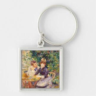 Porte-clés Pierre un Renoir   dans le jardin