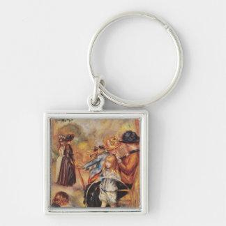 Porte-clés Pierre un Renoir   dans les jardins du