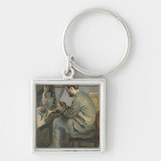Porte-clés Pierre un Renoir | Frederic Bazille à son chevalet