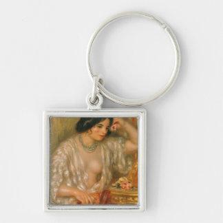 Porte-clés Pierre un Renoir   Gabrielle avec des bijoux