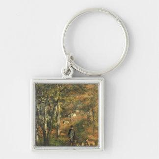 Porte-clés Pierre un Renoir   Jules Le Coeur dans la forêt