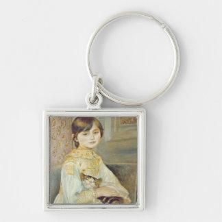 Porte-clés Pierre un Renoir   Julie Manet avec le chat