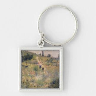 Porte-clés Pierre un Renoir   le chemin à travers la longue
