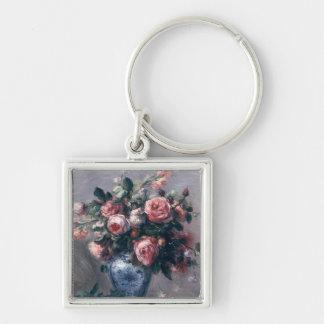 Porte-clés Pierre un vase à Renoir   de roses
