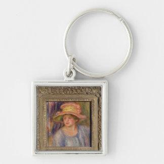 Porte-clés Pierre une femme de Renoir   avec un casquette