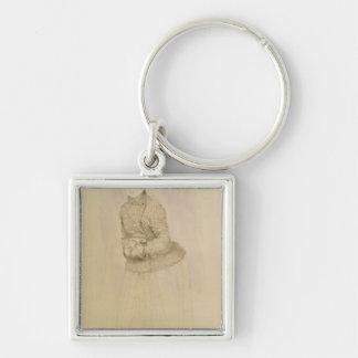 Porte-clés Pierre une femme de Renoir | avec un manchon