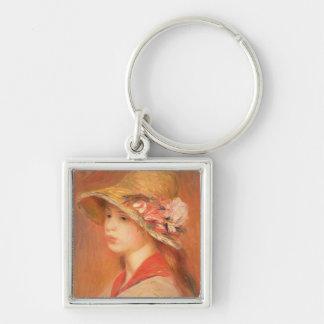 Porte-clés Pierre une jeune femme de Renoir   dans un