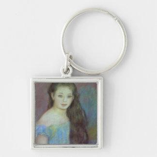 Porte-clés Pierre une jeune fille de Renoir   avec des yeux