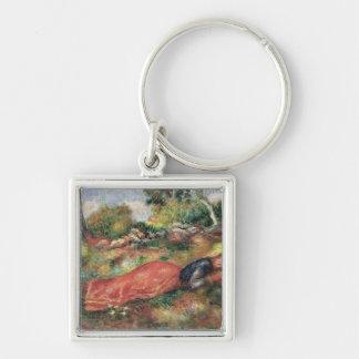 Porte-clés Pierre une jeune fille de Renoir | dormant sur