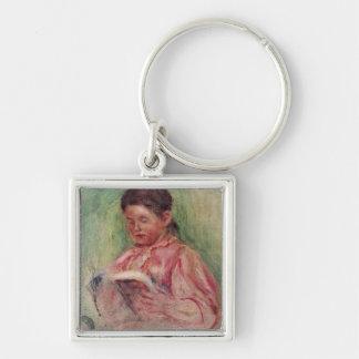 Porte-clés Pierre une lecture de femme de Renoir  