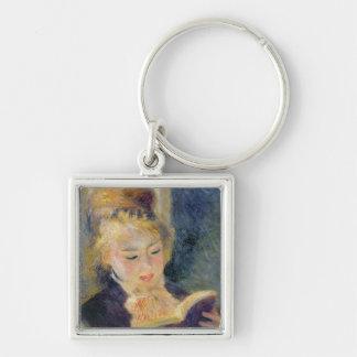 Porte-clés Pierre une lecture de fille de Renoir  