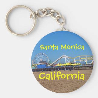 Porte-clés Pilier de Santa Monica, la Californie