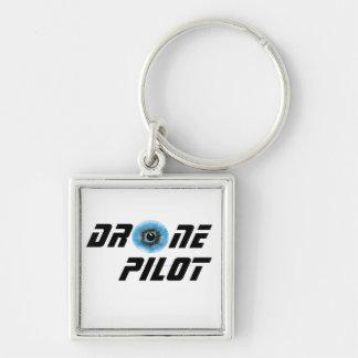 Porte-clés Pilote de bourdon avec le globe oculaire