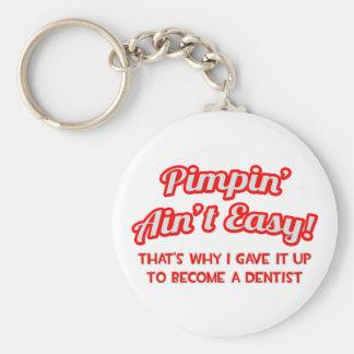 Porte-clés Pimpin n'est pas facile. Dentiste
