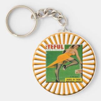 Porte-clés Pin vers le haut de porte - clé de filles