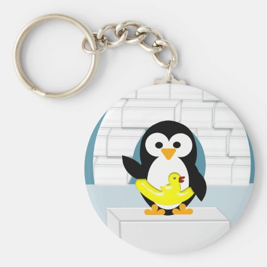Porte-clés Pingouin