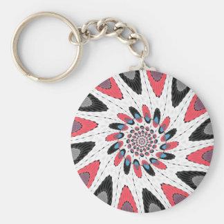 Porte-clés Pirouette contrastée