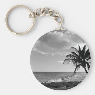 Porte-clés Plage de palmier des Barbade