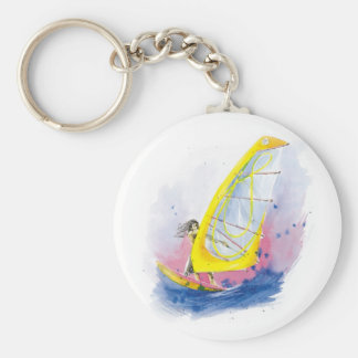 Porte-clés Planche à voile