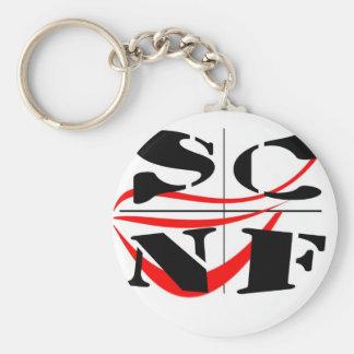 Porte-clés Pleins d'objets aux couleurs du club