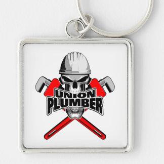 Porte-clés Plombier des syndicats : Clés à crâne et à tube