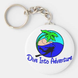 Porte-clés Plongez dans l'aventure