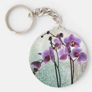 Porte-clés pluie et porte - clé d'orchidées