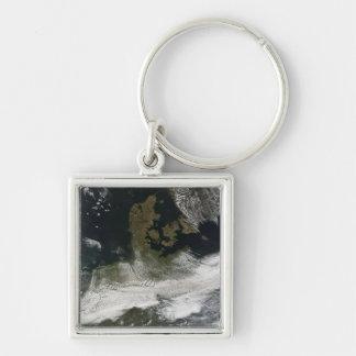 Porte-clés Plume de cendre du volcan 2 d'Eyjafjallajokull