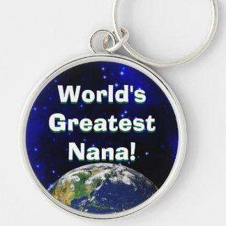 Porte-clés Plus grande Nana du monde ! Porte - clé