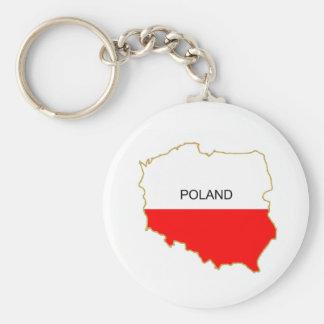 Porte-clés Png polonais de carte