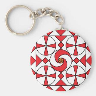 Porte-clés Points et porte - clé de remous