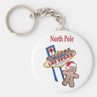Porte-clés Pôle Nord Gingerbreadman avec le signe Keyc de Las