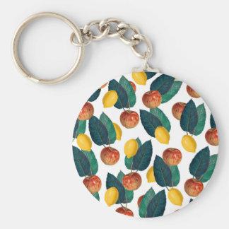 Porte-clés Pommes et citrons