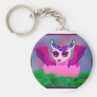 Porte-clés poney de Pegasus de cheval de lama de dragon de