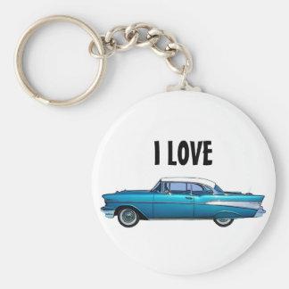 Porte-clés Porte - clé 1957 classique de coutume de Chevy