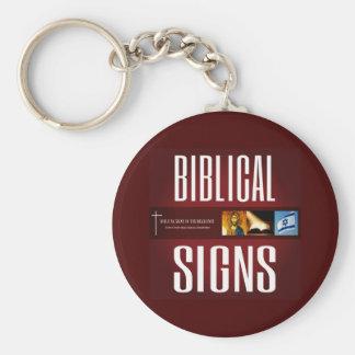 Porte-clés Porte - clé 2018 biblique de logo de signes