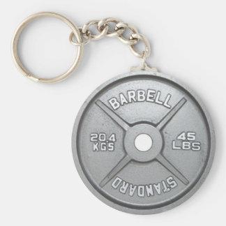 Porte-clés Porte - clé 20KG 45LB de plat de poids