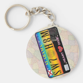 Porte-clés Porte - clé à la maison doux de l'Alabama (séries