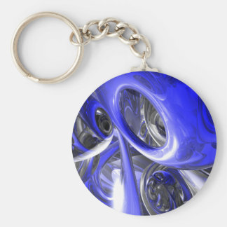 Porte-clés Porte - clé abstrait de Cerulean