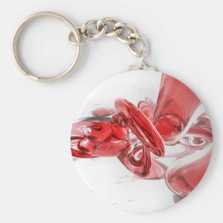 Porte-clés Porte - clé abstrait de coagulation